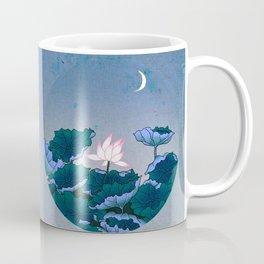 Minhwa: Lotus Pond at Night B Type Coffee Mug