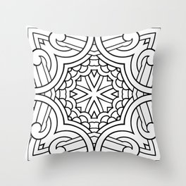 Doodle Patterns Coloring Canvas Home Decor Wall Art Canvas Print Throw Pillow