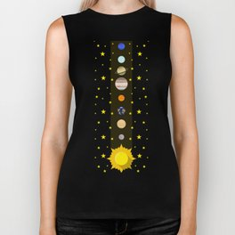 Solar System #society6 #decor #buyart #artprint Biker Tank
