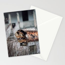 Mailbox of Rust Stationery Cards