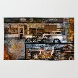 Vintage Auto Rug