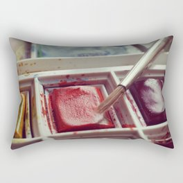 Paint Set Rectangular Pillow