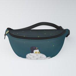 Star gazing - Penguin's dream of flying Fanny Pack