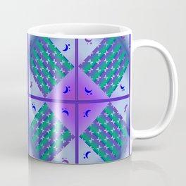 Moonlight Blue, Design pattern Coffee Mug