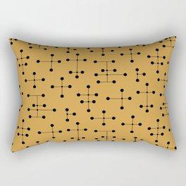 Atomic Era Dots 106 Rectangular Pillow