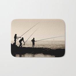 Three Fishermen Bath Mat