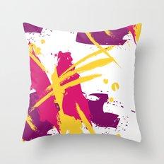 Fresh splash Throw Pillow