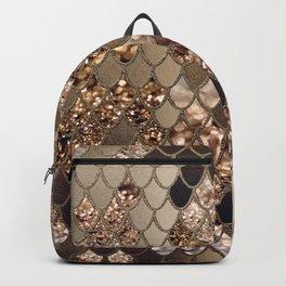 Mermaid Glitter Scales #6 #shiny #decor #art #society6 Backpack