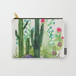 Cactus Garden Carry-All Pouch
