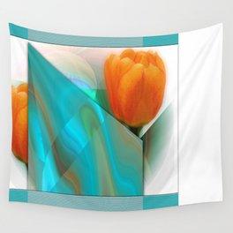 Tulip Sunrise Wall Tapestry