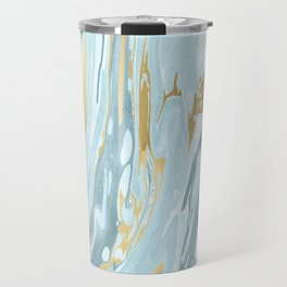 Winter Marble #society6 #buyart #decor Travel Mug