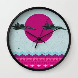 Jets Wall Clock