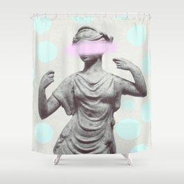 Dotty Sculpture Shower Curtain