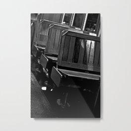 Pick A Seat Metal Print