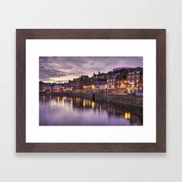 Oban Dusk Framed Art Print