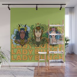 Lady Bunch (Boss Babe Series) Wall Mural