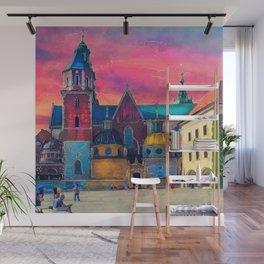 Cracow Wawel art Wall Mural