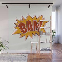 Bam explosion Wall Mural