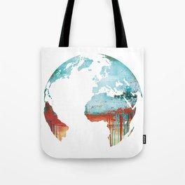 Globus - World Map Tote Bag