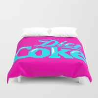 coke Duvet Covers featuring COKE >>> 1991 by Mark Mayr