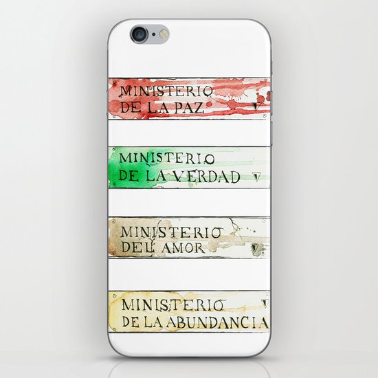 Ministerios 1984 iPhone & iPod Skin