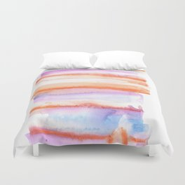 171122 Self Expression 4 | Abstract Watercolors Duvet Cover