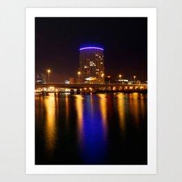 Obel Tower, Belfast Art Print