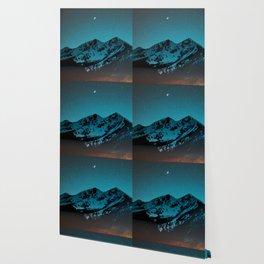 Mountains at night I // Boulder Colorado Wallpaper