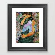 Couple of Lovers Framed Art Print