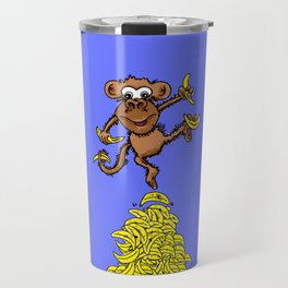 Monkey Business Travel Mug