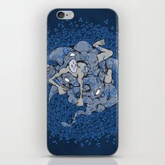 In deep iPhone & iPod Skin