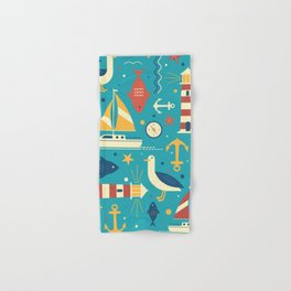 All At Sea Hand & Bath Towel