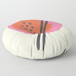 Frugal Food Sixties Floor Pillow