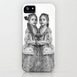 Sisters Twins iPhone Case