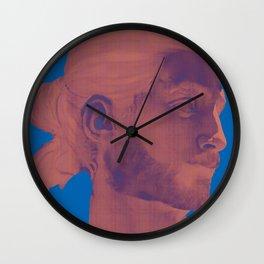 Davide rosso Wall Clock
