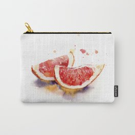 watercolor grapefruit Carry-All Pouch