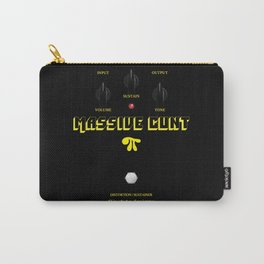 'Massive Cunt' Guitar Pedal Vintage Carry-All Pouch