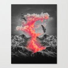 Burn Brighter In the Dark Canvas Print