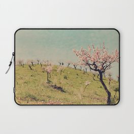 Almond Blossom Hill Laptop Sleeve