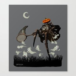 Ghost Collector Canvas Print