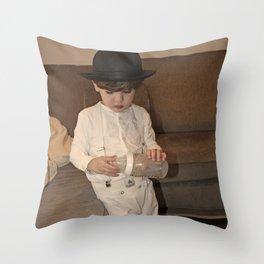 Alex DeLarge Throw Pillow