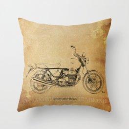 237-2019 Moto Guzzi V7 III Milano gift ideas Throw Pillow