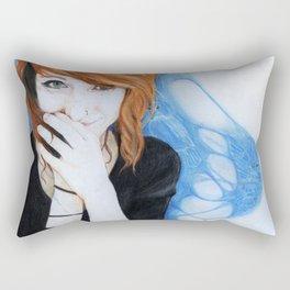 Cerulean Warbler Rectangular Pillow