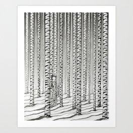 Concealment Art Print
