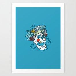Udead the Sea Art Print