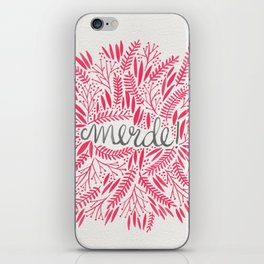 Pardon My French – Pink iPhone Skin