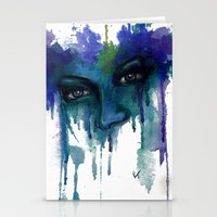 venus Stationery Cards featuring Venus by Liza's Brushes