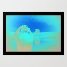 Reflection 02 Art Print