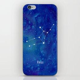 Constellation Virgo iPhone Skin