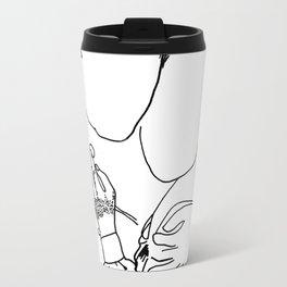 Clutching Love Metal Travel Mug